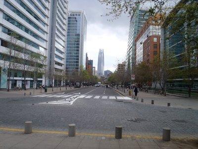 Downtown Santiago Chile