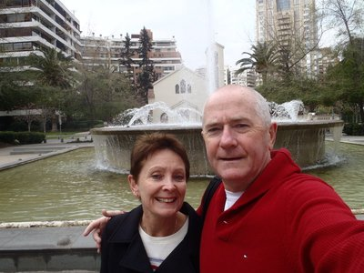 The Holmes's in Chile