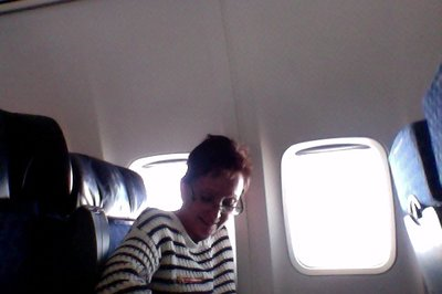 Note Mandy always gets the window seat