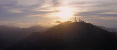 Rio de Janeiro in sunset