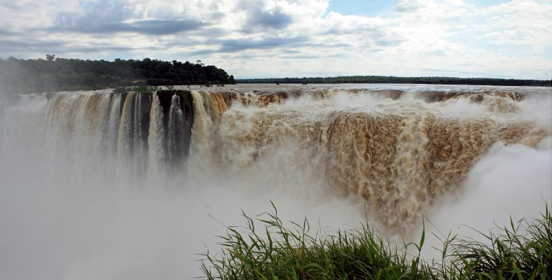 Iguazu Falls from Argentinian site