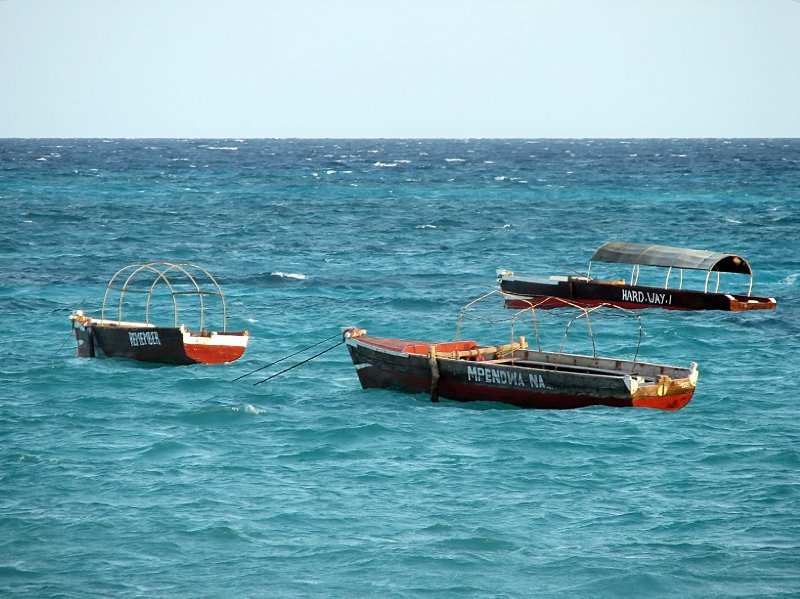 Fishing boats taking a break