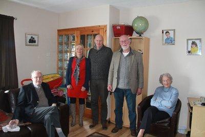 Family group in Newtonabbey