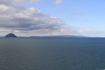 Ailsa Craig and Arran