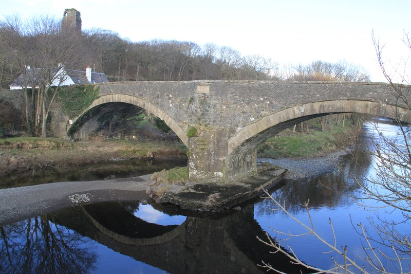 River Stinchar bridge, Ballantrae