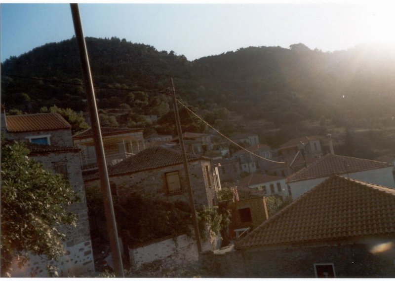A village in Lesvos