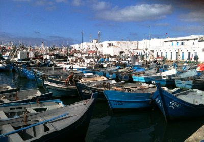 Fishing Boat harbour tangiers