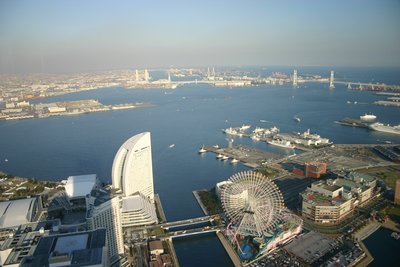 Yokohama Bay from Landmark Tower