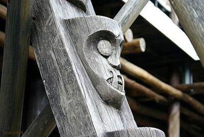 Kalimantan staircase