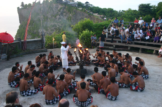 Kecak Dance at Uluwatu