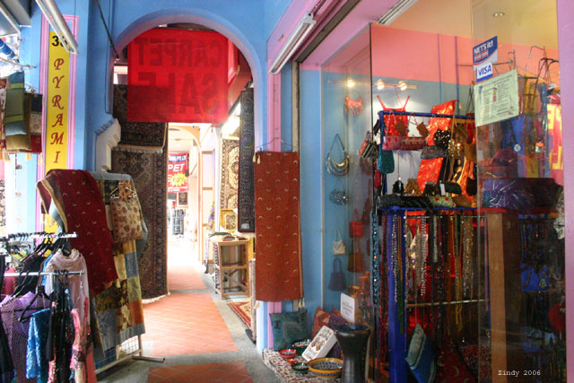 Shops in Arab Quarter