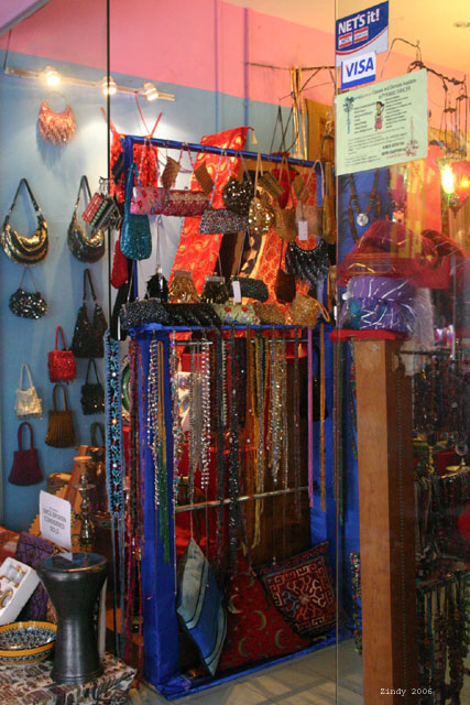 A shop in Arab Quarter