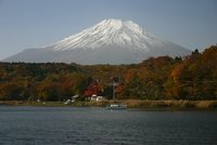 Mt. Fuji and Lake Yamanaka