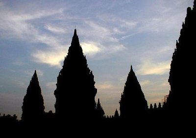 Prambanan temple, central Java