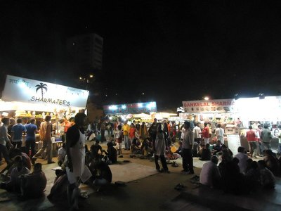 Sunday Night at ChowPatty Beach