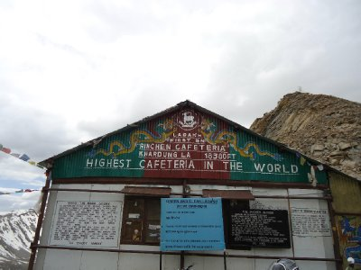 The Highest Cafe on Earth