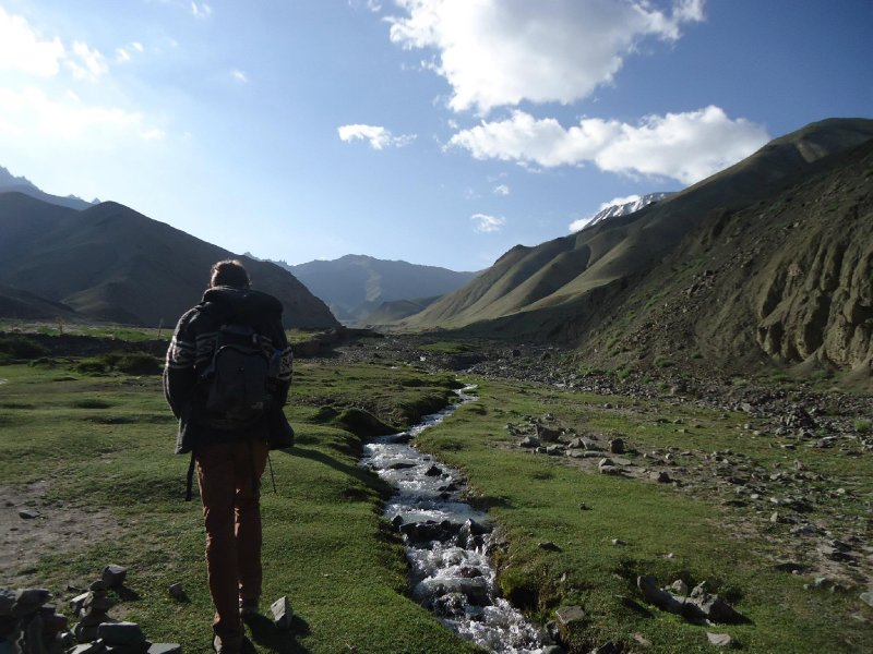 Trekking through Ladakh