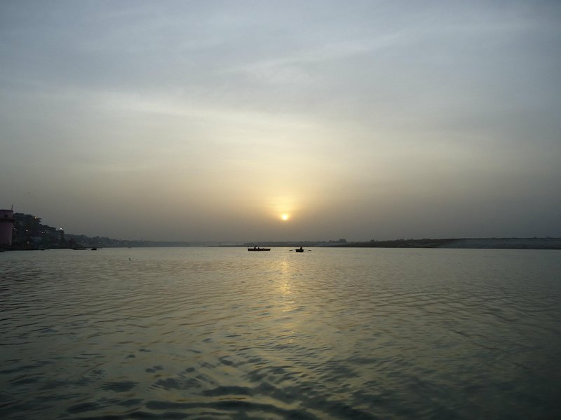 Ganga at Dawn