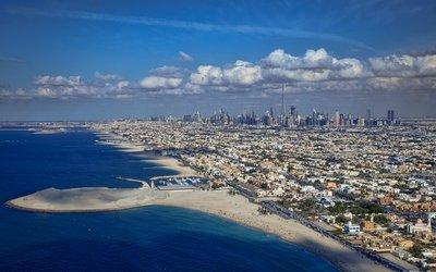 Dubai from Burj Al Arab