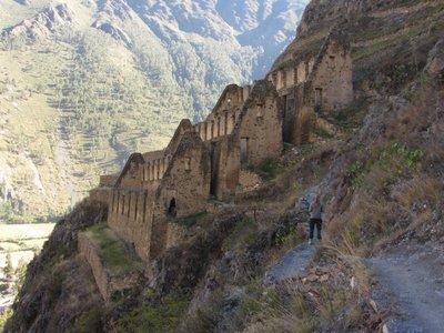 Inca Storehouses