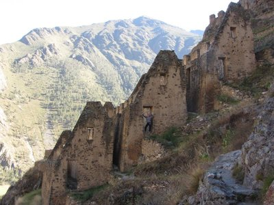 Inca Storehouses