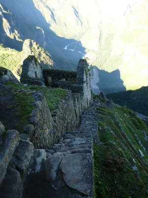 Wayna Picchu building