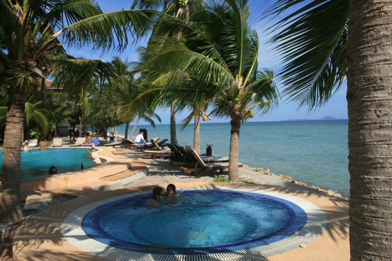 First villa, Baan Tai, pool