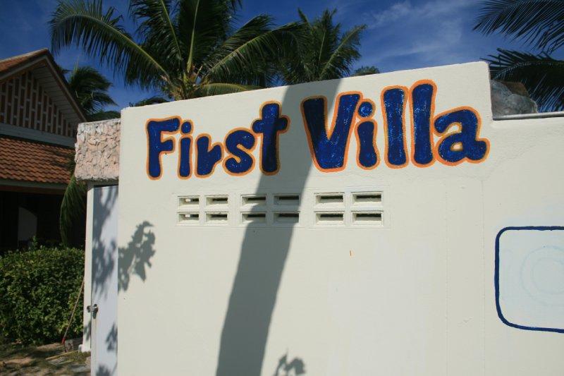 First villa, Baan Tai, enter