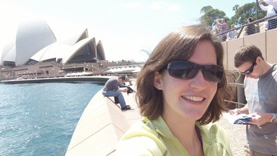 Me With Sydney Opera House in the background