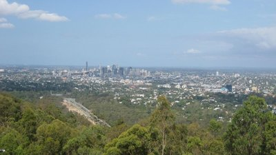 View of Brisbane from Mount Coot-tha