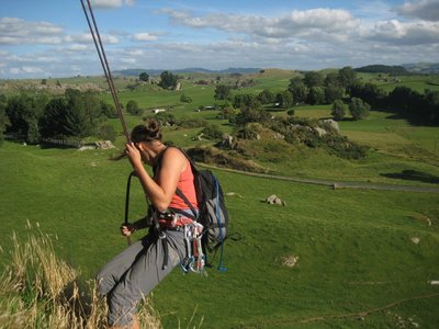 Abseiling at Sheriden