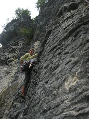 Climbing in Paynes Ford