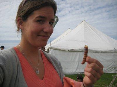 Tasty Looking HuHu Grub at The Wild Foods Festival