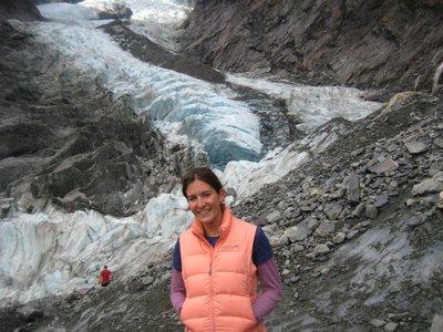 Me Standing In Front Of Franz Josef Glacier