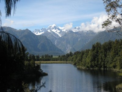 Mt Cook Reflected in Lake Matherson