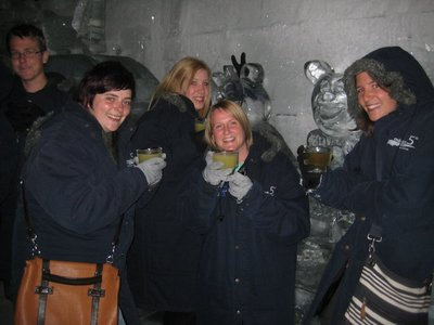 Wrapped Up Warm In The Ice Bar