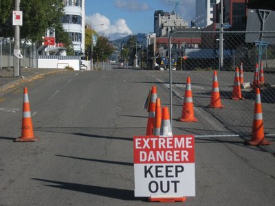 Deserted Christchurch Centre (The Red Zone)