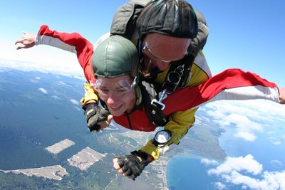Free Falling from 15,000ft and Having Fun. Honest.
