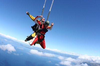 Pull the Chute and the Free Fall is Over