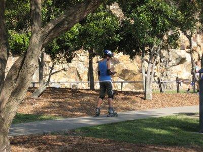 Rollerblading in Brisbane