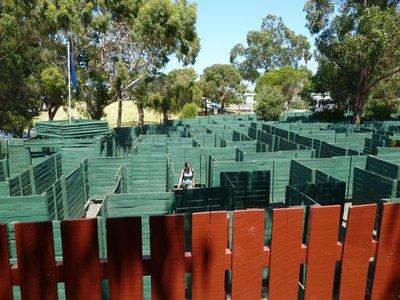 Getting lost in the Maze in Phillip Island