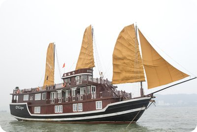 halong eclipse sail