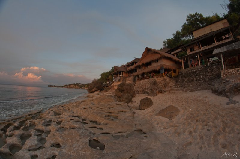 Our first warung at Bingin Beach - 03/11/11