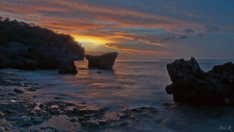 Sunset at Bingin Beach - 03/11/11