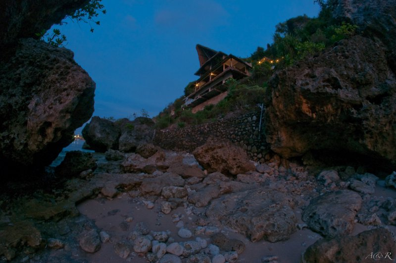 Our accommodation upgrade at Bingin Beach - 03/11/11