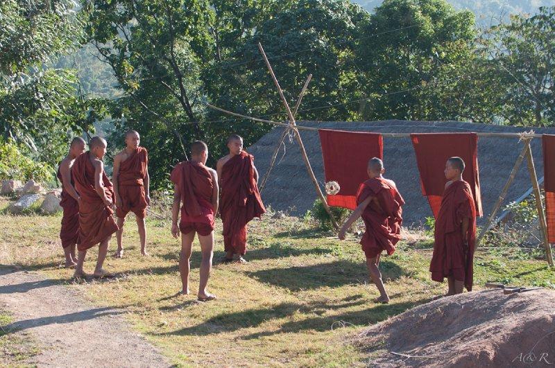 Morning monk recreation