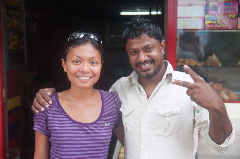 Our friend Amila