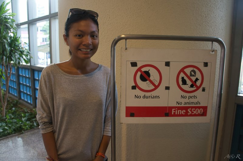 Rina's favourite food is banned in public here