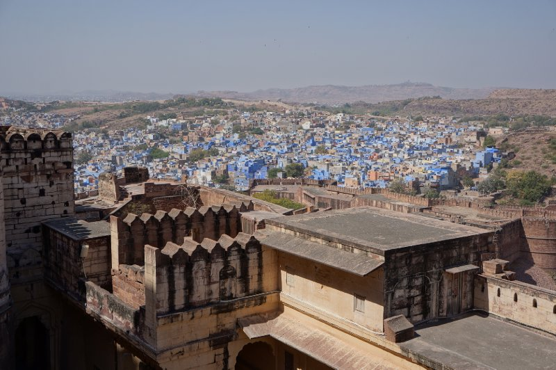 A view of Jodhpur, aka The Blue City