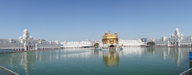 The Sikh's most holy site - The Golden Temple in Amritsar